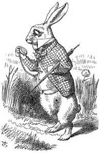 Alice in Wonderland Rabbit