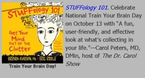 STUFFology 101 Featured Title for Train Your Brain Day